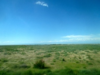 First views of the Kazakh steppe
