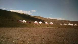 Ger camp near Kolsai