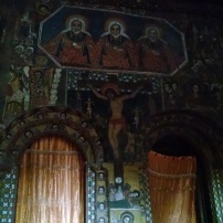 Paintings, inside of Debre Berhan Selassie church